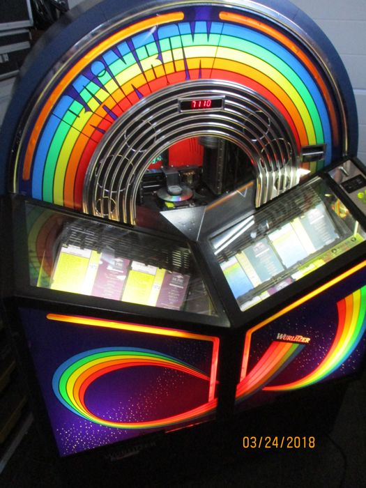 WURLITZER RAINBOW cd jukebox