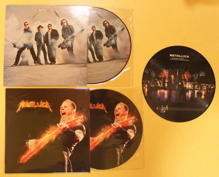 Metallica - 3 picturediscs