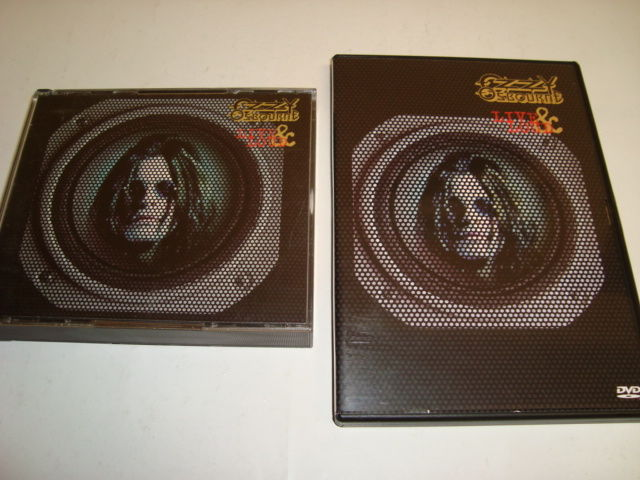 Ozzy Osbourne ‎– Live & Loud Fatbox cd-set with tattoo's + DVD Live & Loud (Double sided dvd)