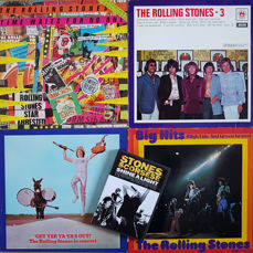 4 Early Rolling Stones albums: Big Hits (High Tide and Green Grass) (1966), Rolling Stones 3 (1968), Get Yer Ya-Ya's Out (1970), Time Waits For No One (1979). Bonus: DVD Shine A Light (Stones / Scorsese)