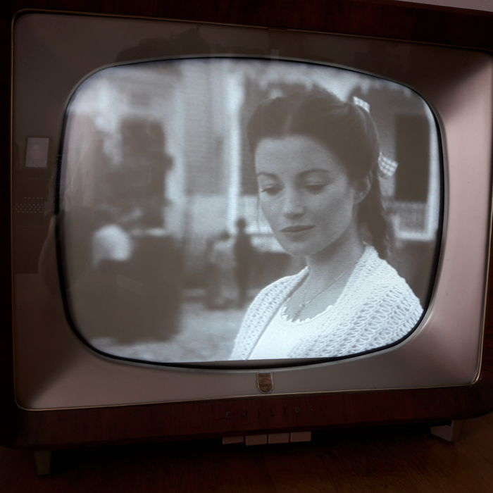 Vintage Philips TV, year of manufacture 1956 - Catawiki