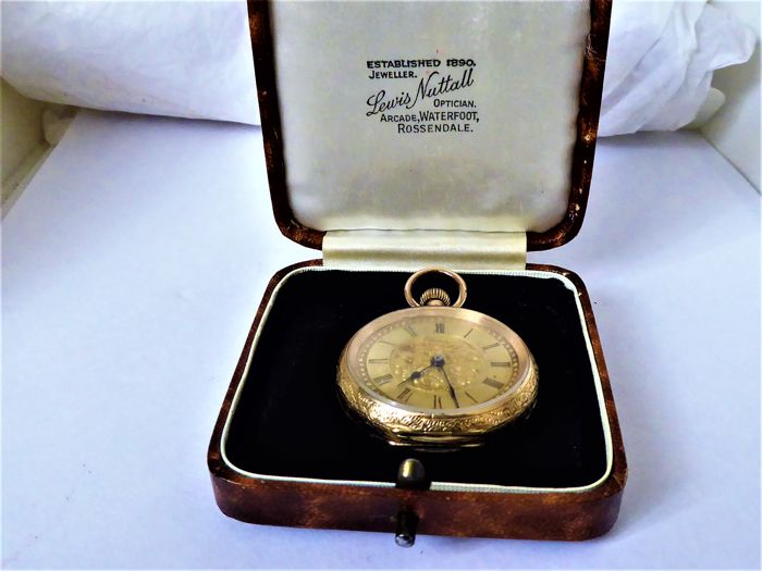 swiss - pocket watch - Unisex - 1850-1900