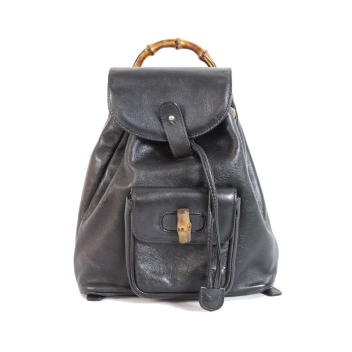 72b209d8e06 Gucci - bamboo backpack Backpack - Vintage - Catawiki