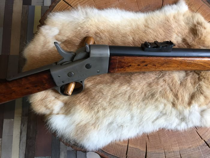 Very beautiful Rolling Block rifle of Husqvarna in cal. 12.7x44 R