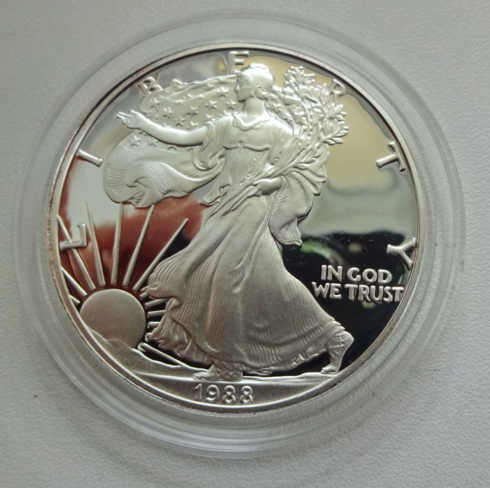 Usa 1 Dollar 1988 Liberty Silver Catawiki