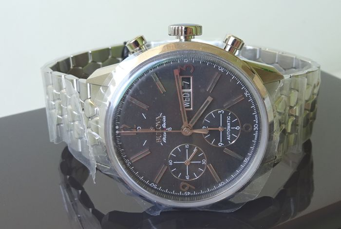 Bulova - Accu Swiss Automatic Cronograph Grey Dial - Heren - 2011-heden