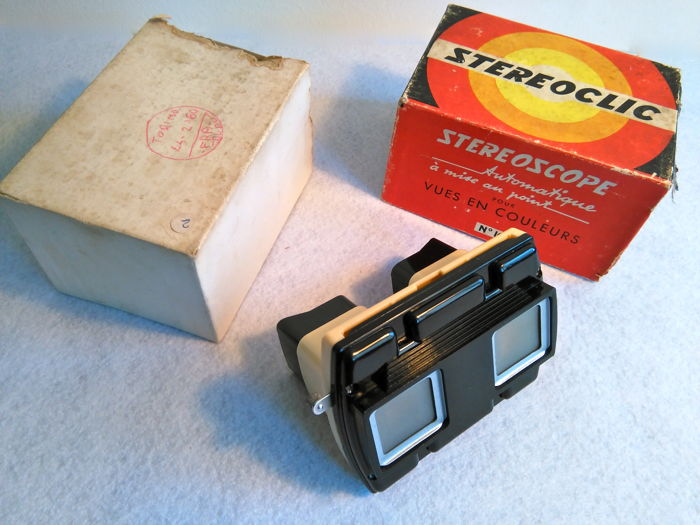 Stereoclic - Vintage stereoscope with original packaging