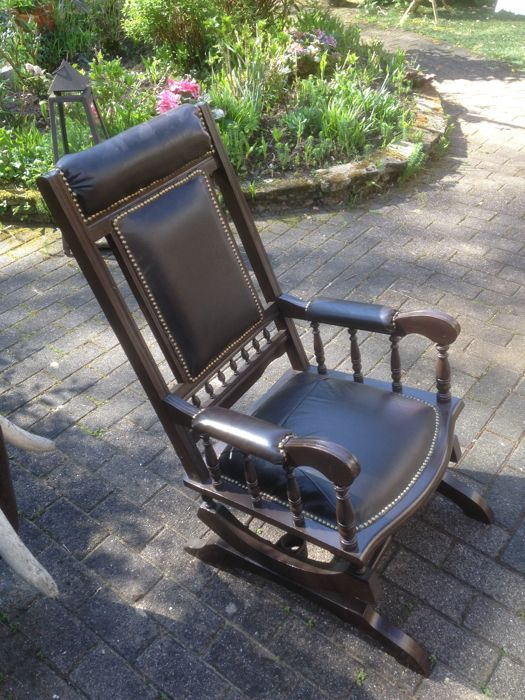 Rocking chair, mid 20th century
