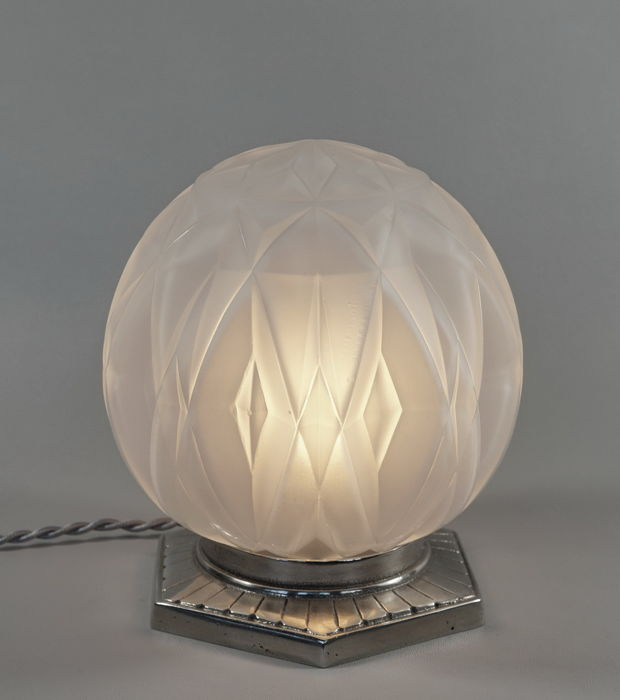 ANDRÉ HUNEBELLE French Art Deco lamp