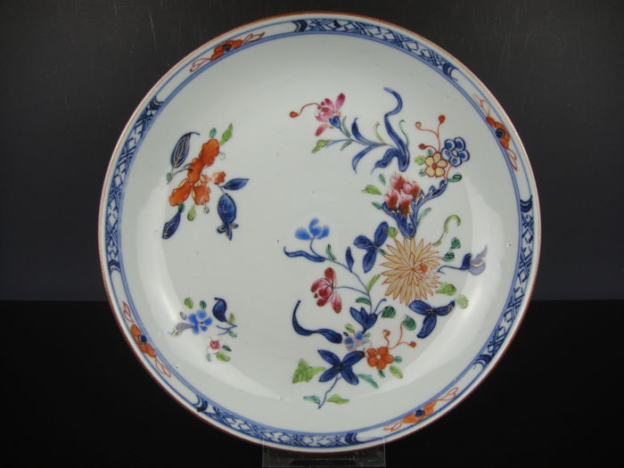 Porcelain plate – China – 18th century