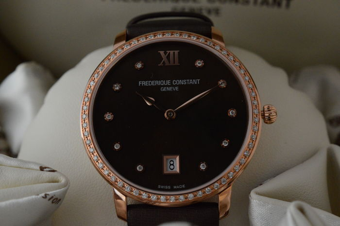 Frédérique Constant - SLIMLINE JOAILLERIE - FC-220C4SD34  - Mujer - 2011 - actualidad