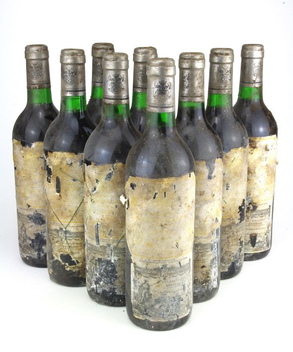 1985 Marques de Riscal - 9 bottles 75cl.