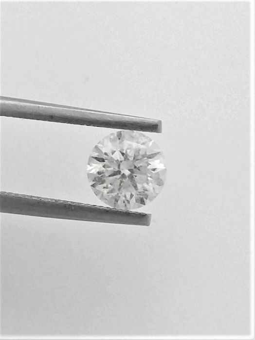 Round Brilliant Cut  - 1.16 carat  - G color  - SI1 clarity  - 3 x EX - Natural Diamond  - With AIG Big Certificate + Laser Inscription On Girdle