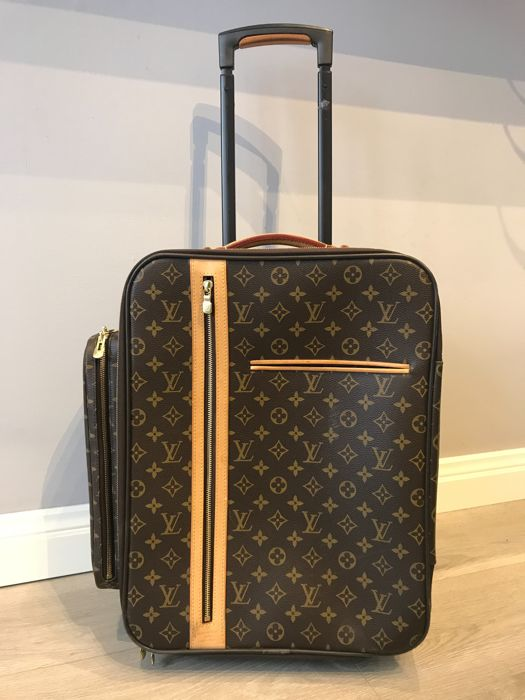 louis vuitton monogram canvas bosphore trolley rolling luggage reistas catawiki. Black Bedroom Furniture Sets. Home Design Ideas