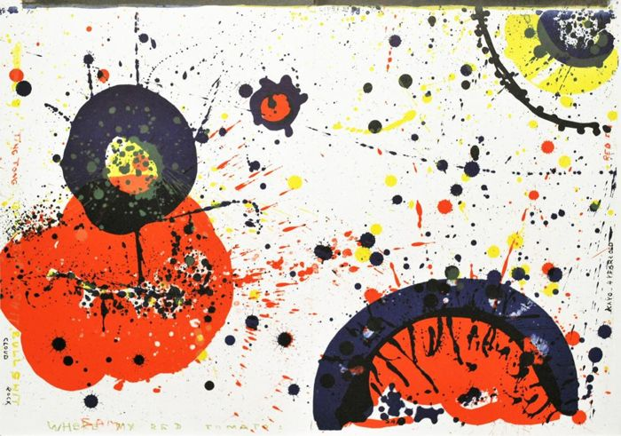 Sam Francis - Cloud Rock (from the One Cent Life portfolio)