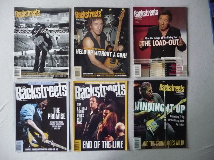 Backstreets – The Boss Magazine – 38 copies of this Bruce