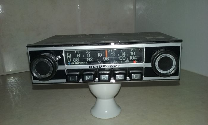 CLASSIC BLAUPUNKT FRANKFURT CAR RADIO Tested.