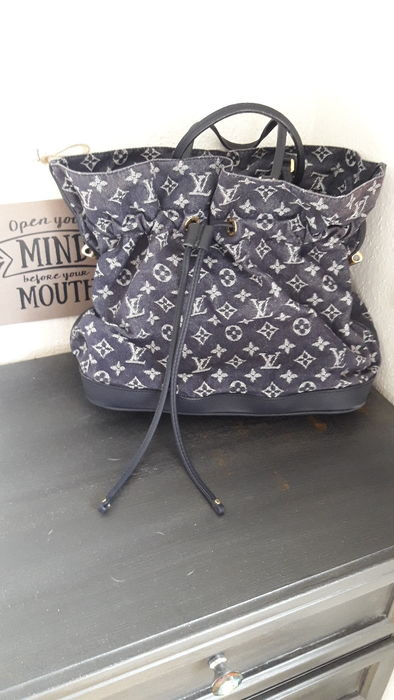 Louis Vuitton - Denim Noefull Grand Bleu Shoulder bag