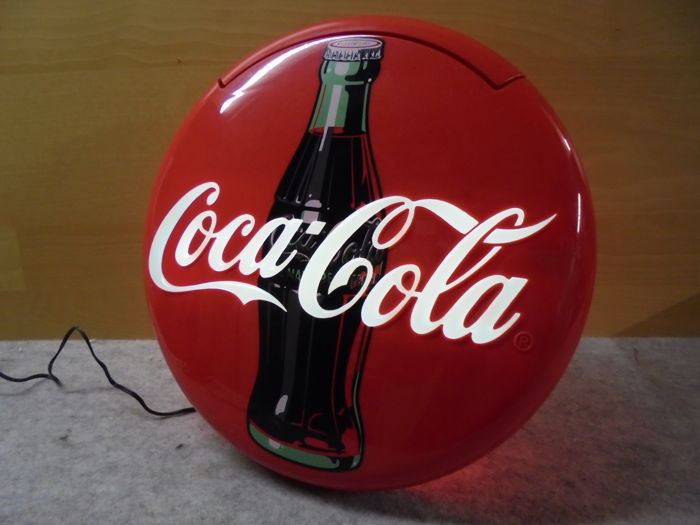 Disk telephone of The Coca-Cola Company (1996) + Original packaging