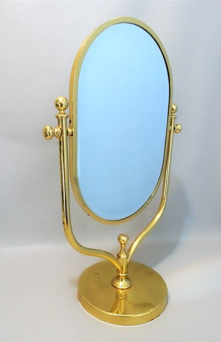Manufacturer unknown - Hollywood Regency style floor mirror