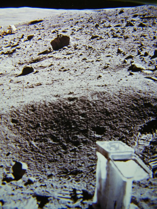 Last Moon car on the Moon: super slides