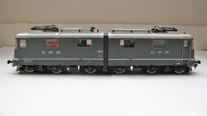 HAG H0 - 200 - Electric locomotive - Re 6/6 - SBB