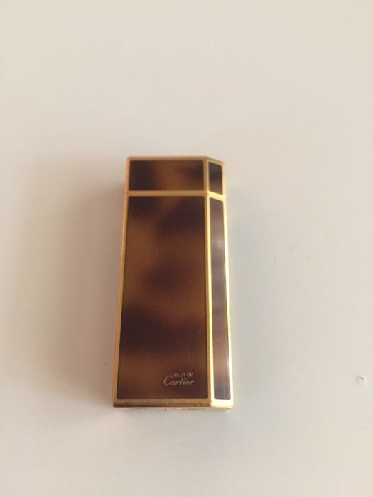 Vintage lighter Les Must de Cartier - 60's