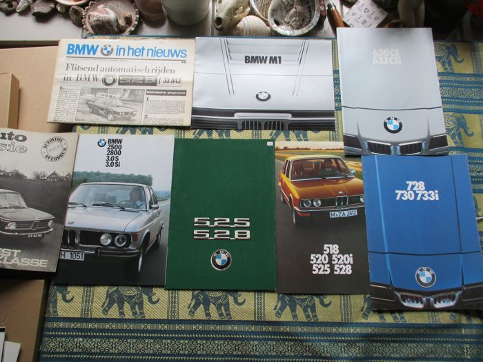 Broșuri/ Cataloage - BMW - 1971-1978