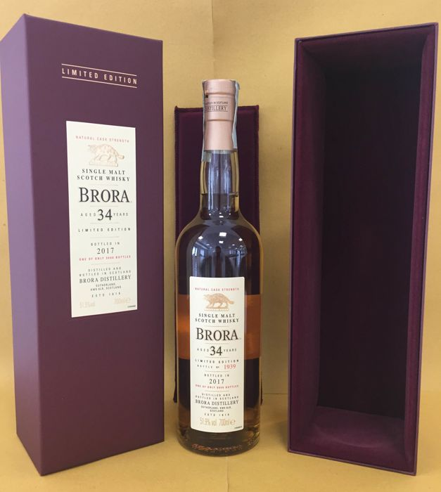 Brora 1982 34 years old - bottled 2017 - OB