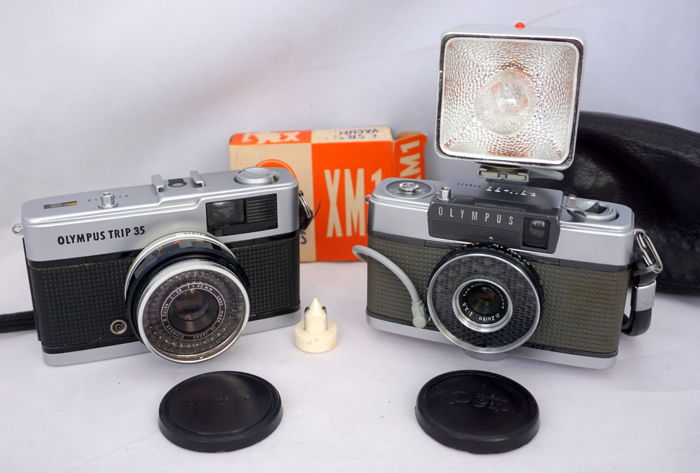 Olympus Pen Ee With Flash Lens Cap And Bag 1961 Olympus Catawiki