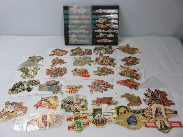Large lot of cigar bands, Mercator, Habana, Ritmeester and many others About 800 pieces
