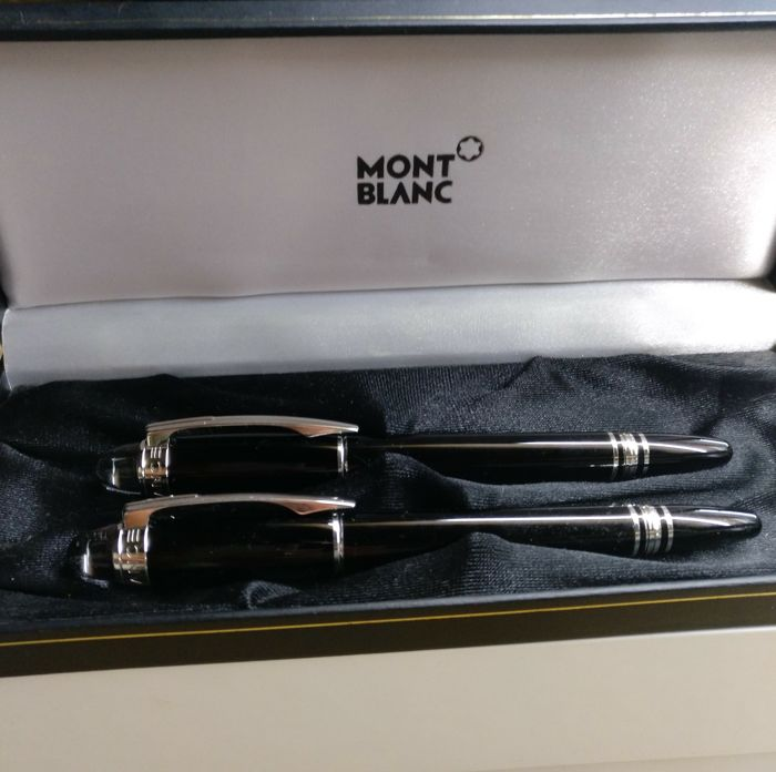 Montblanc ballpoint pen and fountain pen