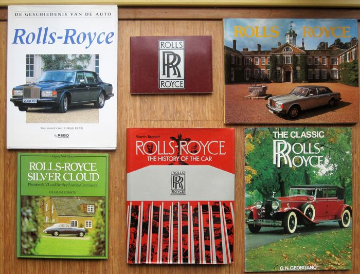 Rolls-Royce books