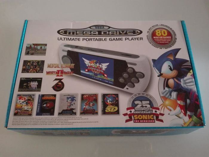 Sega Arcade Portable Megadrive , Sonic 25th Anniversary with 80 games