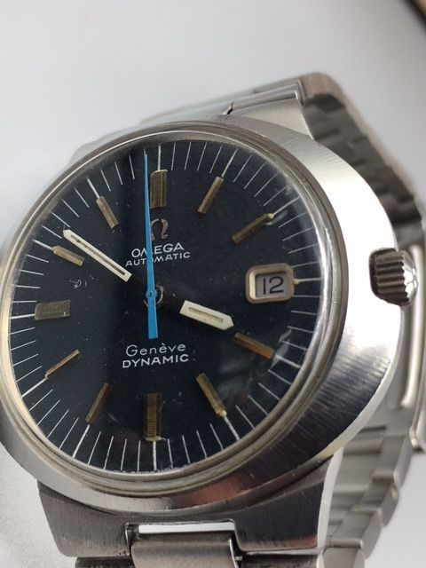 Omega - Dynamic/Geneve/Date - 565-1 - Men - 1970-1979