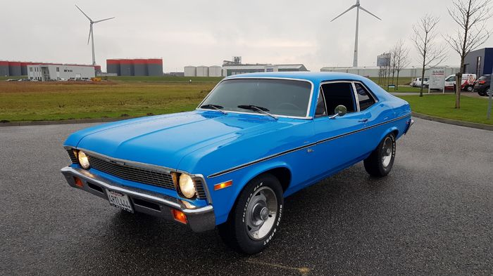 Chevrolet - Nova V8 California car - 1971