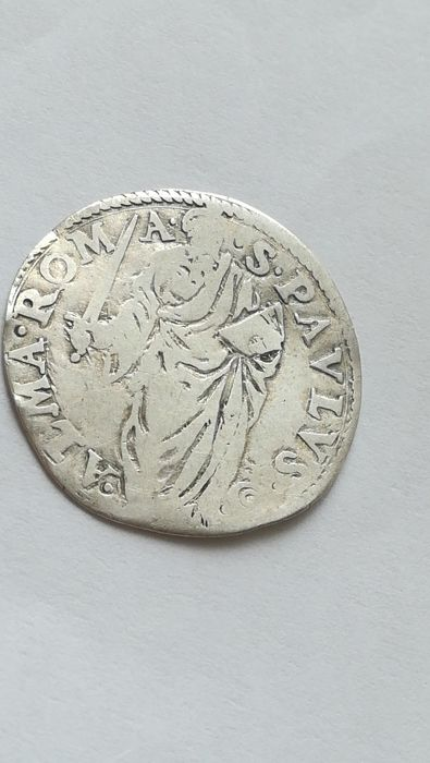 Papal States – Giulio Paolo IV (1555/59) – Silver