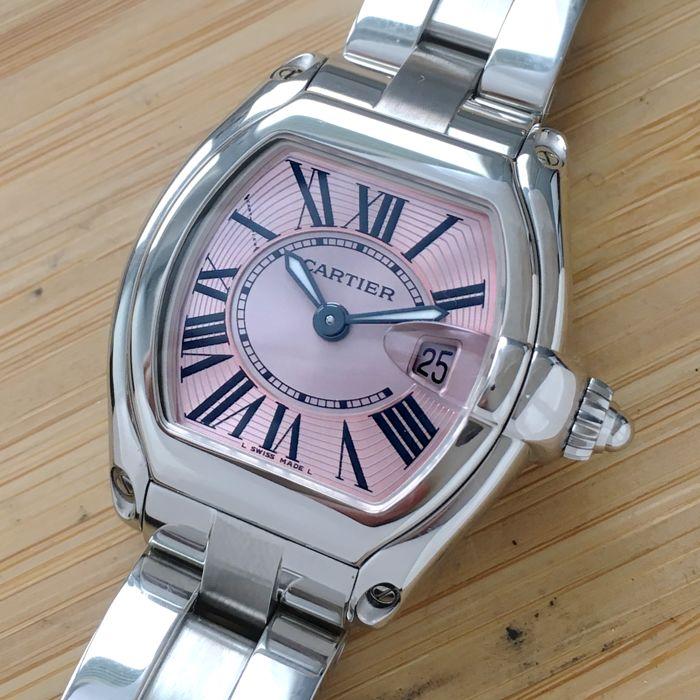 Cartier - Roadster Pink edition Mother of Pearl - Ref. 2675 - Women - 2000-2010