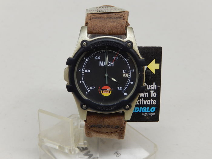 Land Speed Record Holder Thrust SCC Timex Watch in New Unused Condition