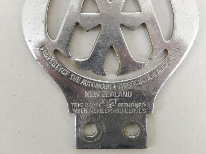 Vehicle Parts & Accessories Vintage Aa Badge Auckland