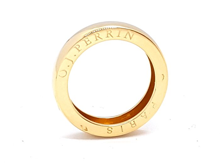 O. J. Perrin - Ring - 18 kt yellow gold - Size 53