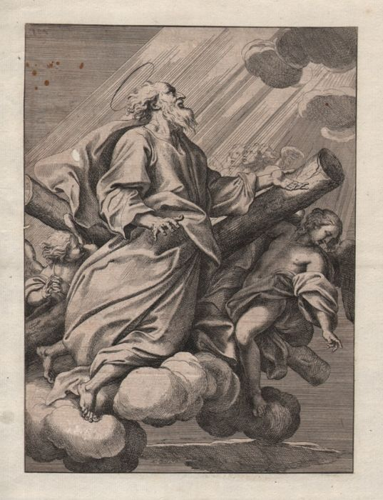 Antwerp Baroque Artist - The Ascension of Saint Peter
