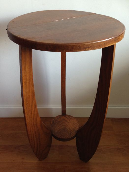 Amsterdam school side table - circa 1930
