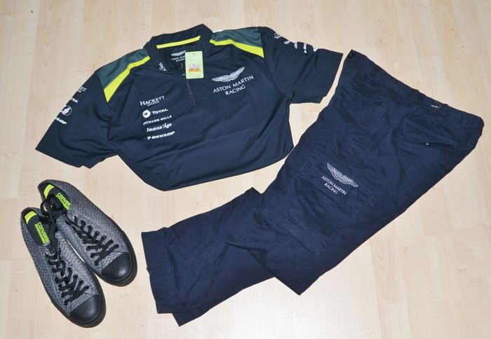 a342ce2d085 aston martin racing   2017 le mans uniform set   shirt   pants