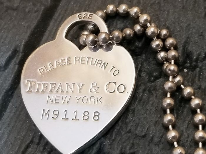 Tiffany & Co. necklace - Return to Tiffany 925 sterling silver, extra large size