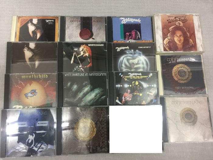 Whitesnake ‎Album x 14 CD