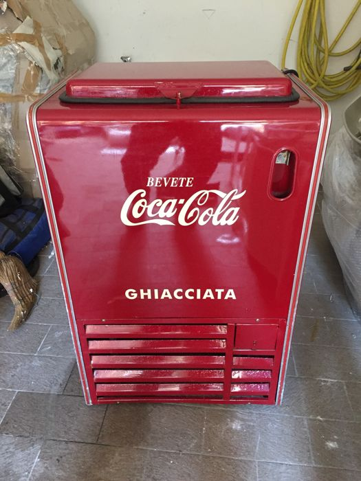 Coca Cola small chest ice freezer
