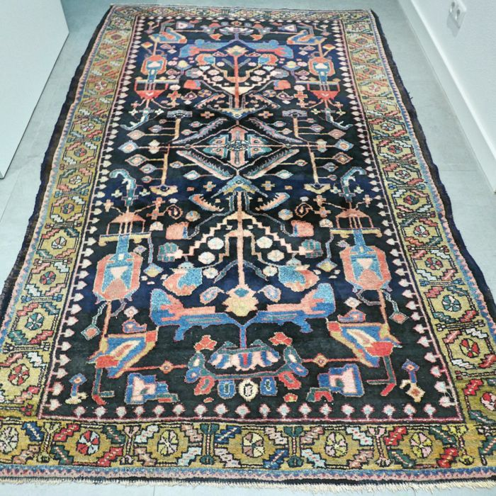Antique Malayer, Iran - 236 x 148 cm
