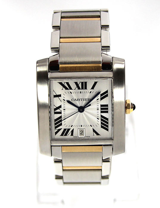 Cartier - Tank Francaise - 2302 - Men - Does Not Apply