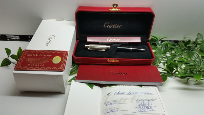Cartier Pasha pen Paladium